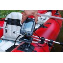 Fishfinder top plate (100 x 100 mm) with transducer arm mount