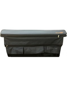 Soft cover for thwart with a storage bag